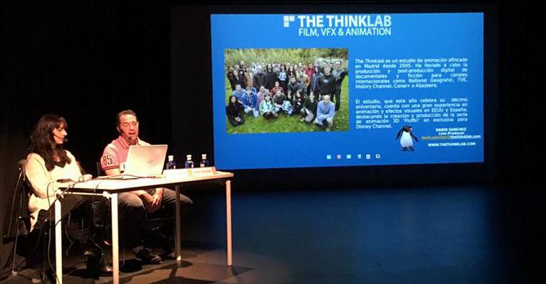The Thinklab explica en Animalada el perfil profesional para películas de animación
